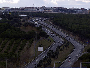 Highways in Spain - Image: A5 Navalcarnero