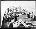 ABC Military Band playing with ABC commentator on a vessel, 1933-1951 (8525965223).jpg