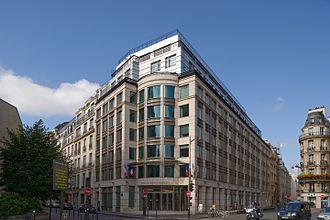 Autorité des marchés financiers (France) - Autorité des marchés financiers (French financial market regulator), place de la Bourse, Paris, France