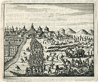 Siege of Batavia - Siege of Batavia by Sultan Agung in 1628