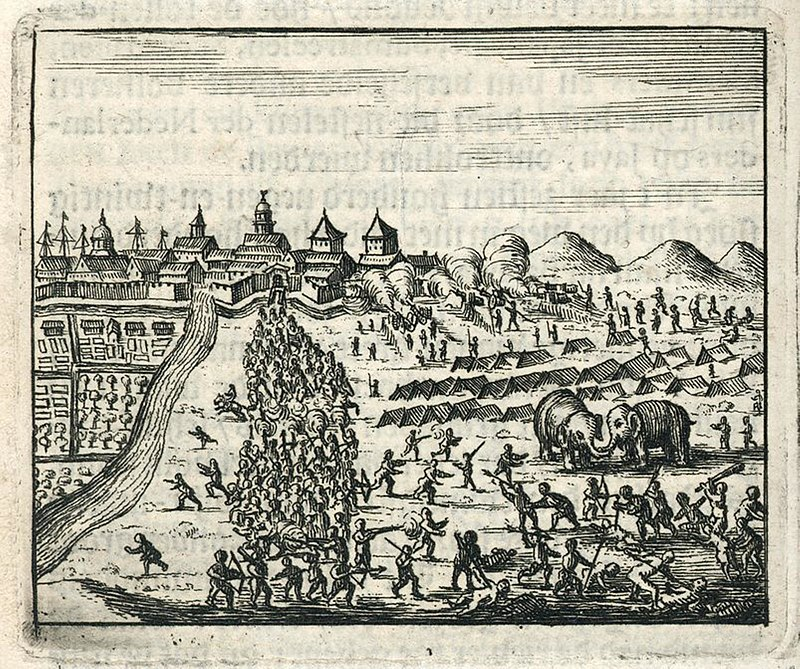 800px-AMH-6775-KB_Siege_of_Batavia_by_the_sultan_of_Mataram.jpg