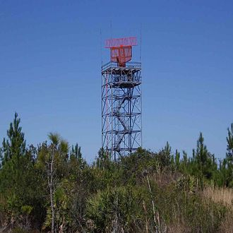 Daytona Beach International Airport - The Daytona Beach Airport Surveillance Radar, located off-site