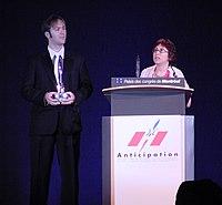 AV accepting Hugo Wiki.jpg