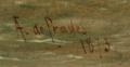 A F de Prades 1873 Horses pulling a flatboat barge signature copy.png