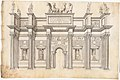 A Monumental Archway with Five Bays in the Corinthian Order MET DP158149.jpg