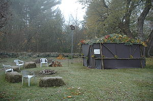 Sukkot - Sukkah in New Hampshire