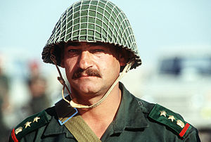 Syrian Army - A Syrian colonel during the First Gulf War.