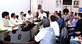 A delegation from Daman & Diu and Dadra & Nagar Haveli led by the Member of Parliament, Shri Natubhai Gomanbhai Patel meeting the Minister of State for Home Affairs, Shri Hansraj Gangaram Ahir, in New Delhi on July 14, 2016.jpg