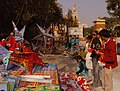 A shopping in full spree on the eve of the Christmas, in New Delhi on December 24, 2006.jpg