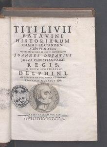 Ab Urbe condita, 1715