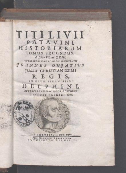 Ab Urbe condita, 1714