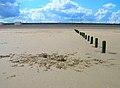 Abandoned Sandcastles - geograph.org.uk - 449537.jpg