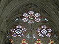 Abbaye Saint-Germer-de-Fly vitrail passage.JPG