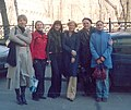 Abram Lurye with students 2004.jpg