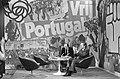 Actie Houdt Portugal Vrij in Jaarbeurs in Utrecht Mario Soares (r) tijdens bi, Bestanddeelnr 927-7130.jpg