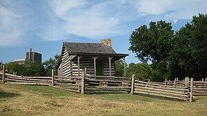 Robert S. Kerr - Kerr was born in this cabin near Ada, Oklahoma.