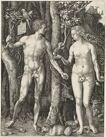 Adam and Eve - Albrecht Dürer
