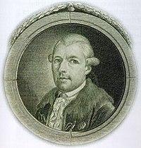 Adam Weishaupt (1748 - 1811), fundador de los Illuminati.