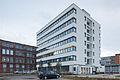 Adminsitration building police Hanomag site Marianne-Baecker-Allee Linden-Sued Hanover Germany.jpg