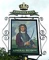 Admiral Benbow pub sign - geograph.org.uk - 1657025.jpg