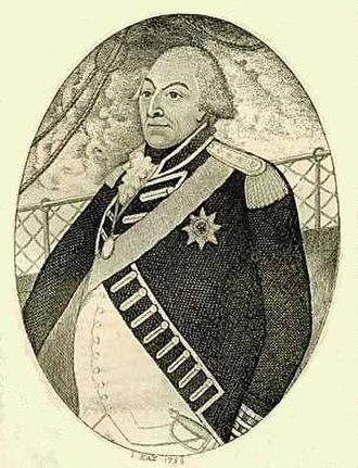 Adam Duncan, 1st Viscount Duncan - Duncan, engraved portrait by John Kay dated 1797