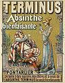 Advertising poster for Absinthe Terminus, Tamagno.jpg