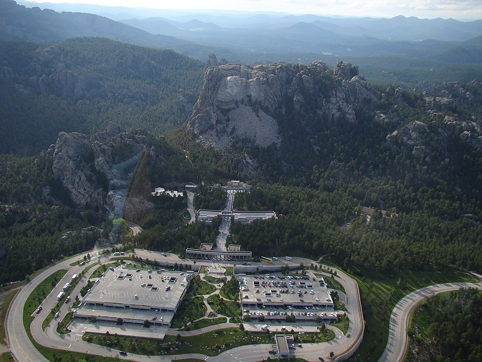 Aerial view of Mount Rushmore National Memorial by Volkan Yuksel DSC04244