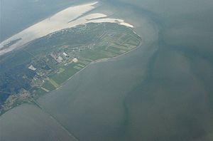 Rømø - Image: Aerial view of Rømø