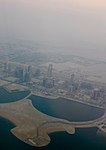 Aerial view of an island and construction in Lusail.jpg