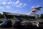 Aeroflot Ilyushin Il-62M gate guardian at SVO (1).jpg