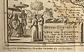 Africa 1707 Lobo (cropped) - Artwork showing Prester John of Abyssinia with indigenous men, a unicorn, a self-sacrificing pelican.jpg