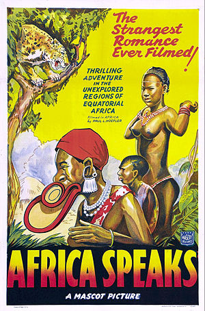 Africa Speaks! - Theatrical release poster