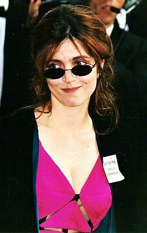 Français : Agnès Jaoui, actrice française, au ...