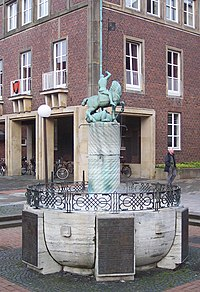 St George's Fountain in Ahaus