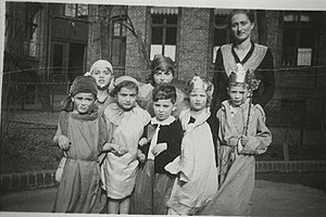 English: Ahawah Children's Home, Berlin; Child...