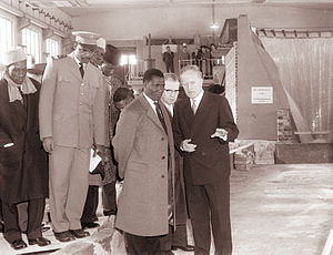 Ahmed Sékou Touré - Ahmed Sekou Toure visiting Yugoslavia in 1961