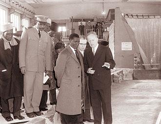 Ahmed Sékou Touré - Ahmed Sekou Toure visiting Yugoslavia in 1961