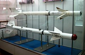 Air-to-air missiles, Military Museum of the Chinese People's Revolution.jpg