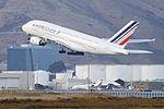 Air France Airbus 380 F-HPJB leaving SFO (30924455900).jpg
