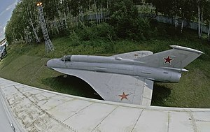 Tupolev Tu-144 - MiG-21I Analog, used as a testbed for the Tu-144's wings