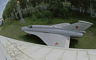 Tupolev Tu-144 - MiG-21I Analog, used as a testbed for the Tu-144's wing