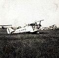 Airplane, airport, Fiat-brand, Italian brand, Weiss Manfréd-brand, Hungarian brand, biplane Fortepan 93131.jpg