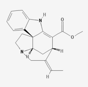 Akuammicine - Image: Akuammicine