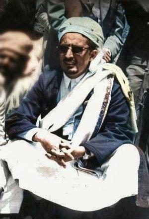Abdullah ibn Husayn al-Ahmar - Abdullah al-Ahmar in 1965