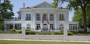 Garden District (Montgomery, Alabama) - Image: Alabama Governor's Mansion by Highsmith 02