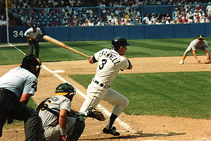 Alan Trammell - Trammell bats at Tiger Stadium, 1991