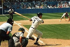 Alan Trammell - Trammell bats at Tiger Stadium, 1991