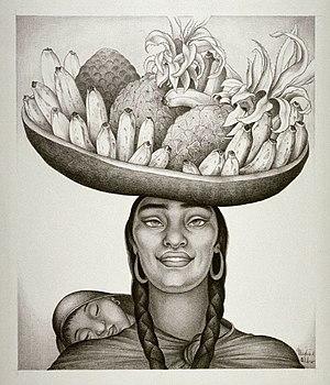 Maxine Albro - Mexico (lithograph), Maxine Albro, 1933, Fine Arts Museums of San Francisco