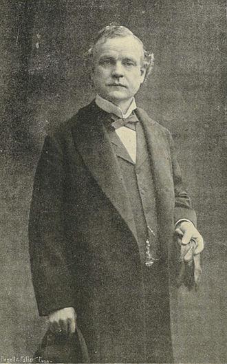 Alden J. Blethen - Photo Portrait of Blethen taken in 1900