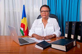 Alexia Amesbury Seychellois lawyer and politician